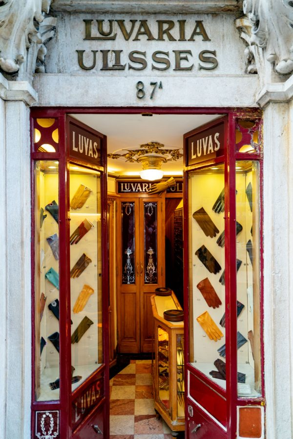 What to Buy in Lisbon Portugal - Luvaria Glove Shop