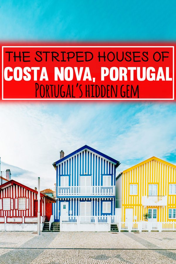 Why you need to visit Costa Nova and Aveiro, Portugal and what to do there. These charming towns are the best spots to visit on any budget. #travel #portugal #europe