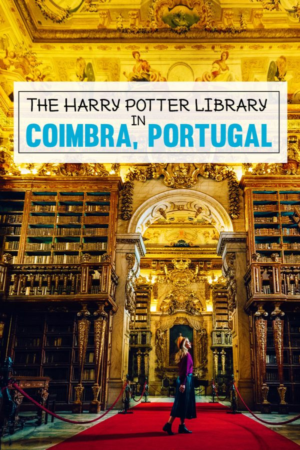Visit the Harry Potter Library at University of Coimbra, Portugal - Biblioteca Joanina Photos