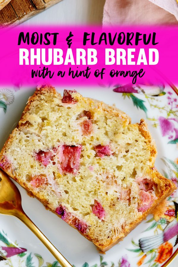 Moist & Flavorful Rhubarb Quick Bread Recipe