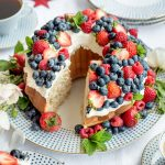 Red White Blue 4th of July Cake Recipe
