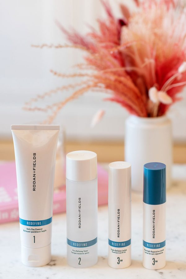 Rodan Fields Skincare REDEFINE Regimen Anti-Aging Routine Review