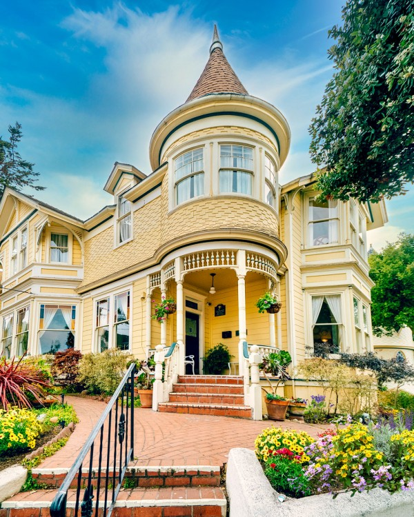 Gosby House Inn best hotels Pacific Grove