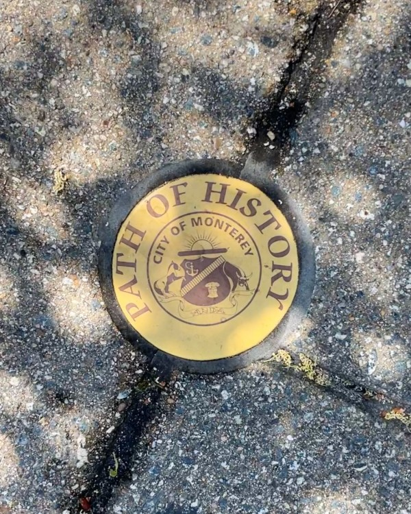 Monterey California Path of History Trail and Tour