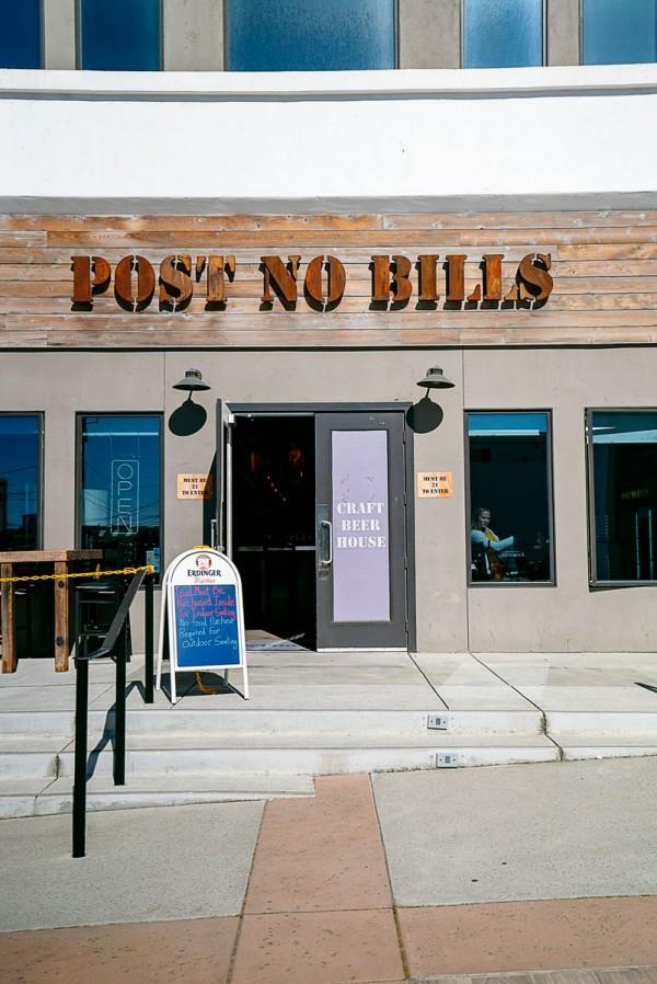 Post No Bills Brewhouse Sand City, CA