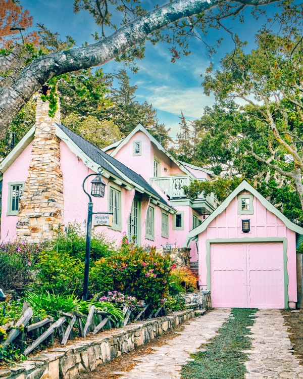 Cute Storybook Houses Carmel By The Sea